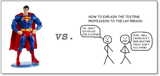 Superman vs software testers